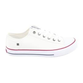 Blanco Zapatillas Big Star atadas blancas 174271