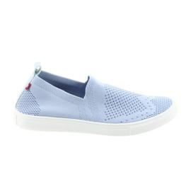 Zapatillas slip-on big star slipony 274785 azul
