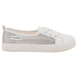 Blanco Zapatillas de deporte de malla MCKEYLOR