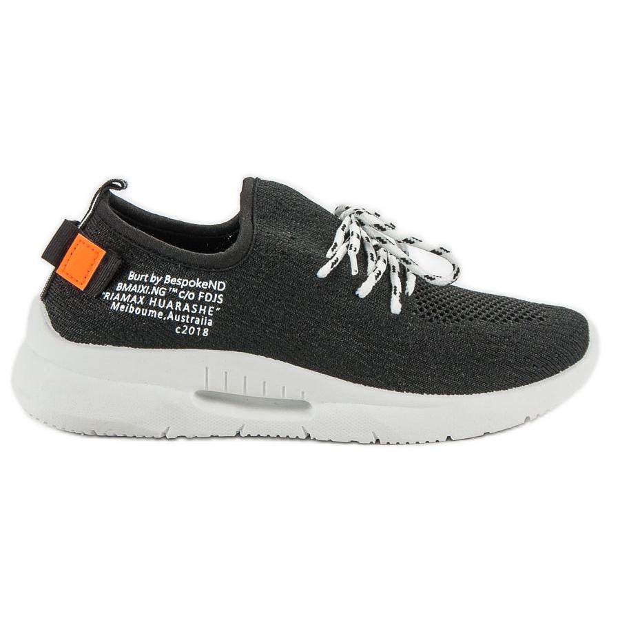 Mckeylor negro Zapatillas deportivas antideslizantes