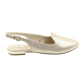 Amarillo Zapatos de oro para mujer caprice lordsy 29400
