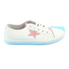 Zapatillas Big Star estrella 274691 blancas.