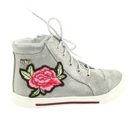 Ren But gris Zapato zapato chicas plata ren pero 3237