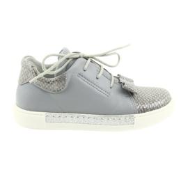 Ren But Ren zapatos 3303 zapatos de cuero gris
