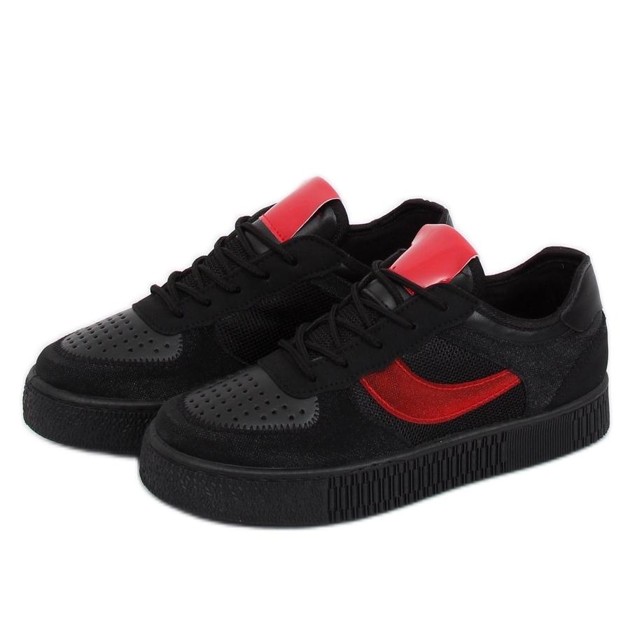diseño de calidad 2f77e e87c3 Negro Zapatillas de deporte negras LA51P Creepers negras