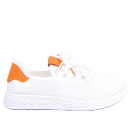 Calzado deportivo blanco y naranja NB281 naranja
