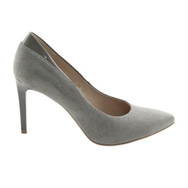 Bombas en un estilete ANIS zapatos de mujer gris