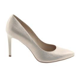 Zapatos de mujer zapatos de cuero Anis 4527 amarillo