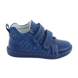 Azul Calzado medico infantil con velcro ren but 1429
