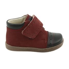 Ren But Zapatos de niño con velcro Ren pero 1535 burdeos.