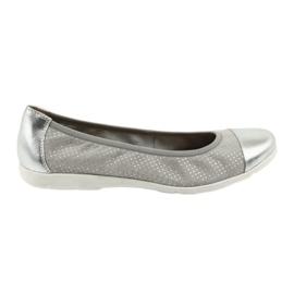 Caprice gris Bailarinas Capricho 22152