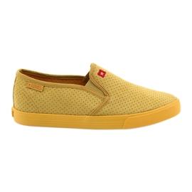Zapatillas slip-in para mujer Big Star 274889 amarillo