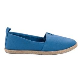 Alpargatas Infantiles azul