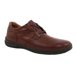 Zapatos badura hombre comfort 3509 marrón.