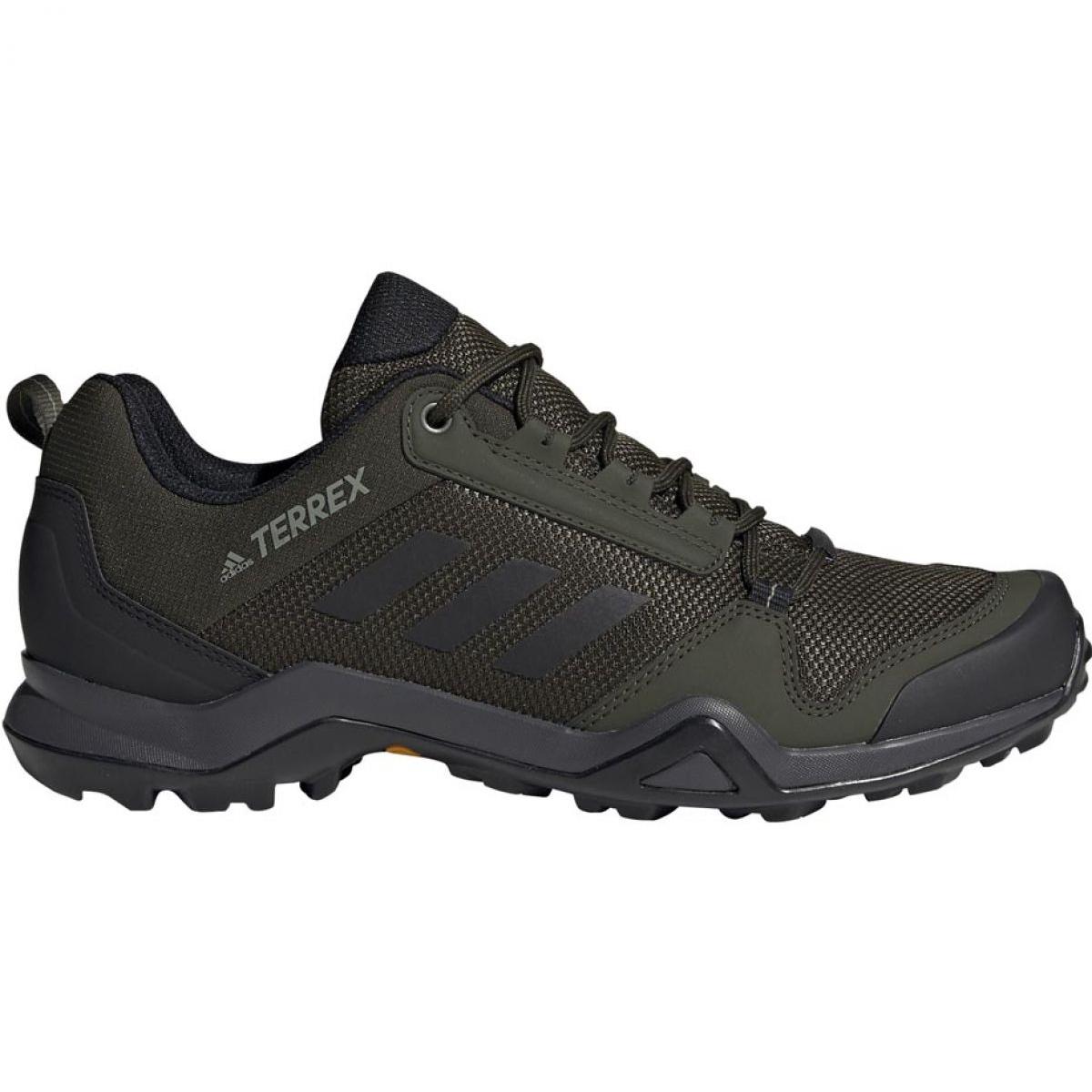 vert Pantoufles de trekking adidas Terrex AX3 M BC0526