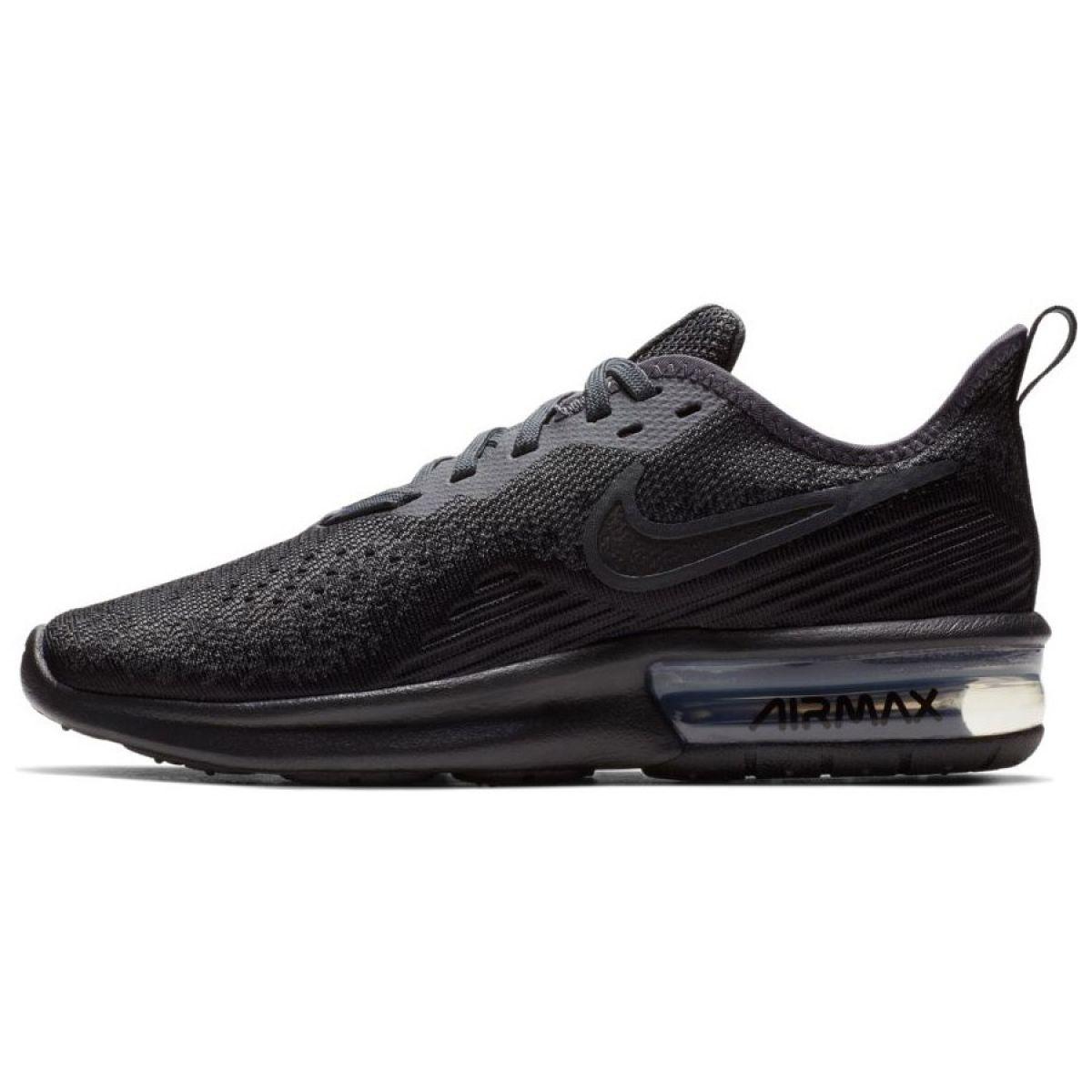 Zapatos Nike Air Max Sequent 4 W AO4486 002 negro