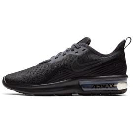 Negro Zapatos Nike Air Max Sequent 4 W AO4486-002