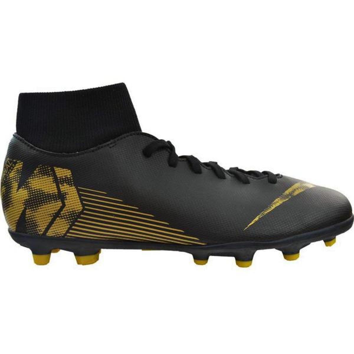 Zapatillas de fútbol Nike Mercurial Superfly 6 Club Mg M AH7363 077 negro negro