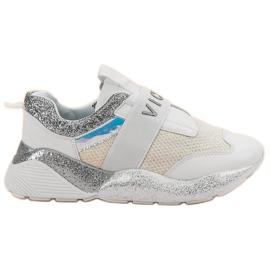 Blanco Zapatillas deportivas sin cordones VICES