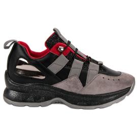Vices negro Zapatillas de deporte Vespers ligeras