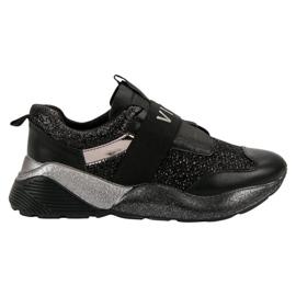 Negro Zapatillas deportivas sin cordones VICES