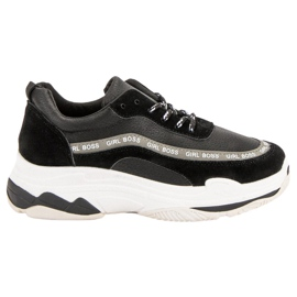 Negro Zapatillas deportivas negras VICES
