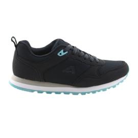 Zapatillas deportivas American Club WT26. Azul oscuro.