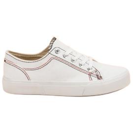 Kylie Zapatillas blancas blanco