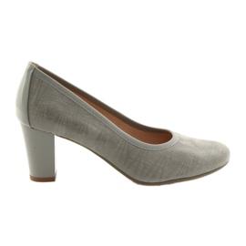 Zapatos de mujer suela elástica Arka 5137 gris