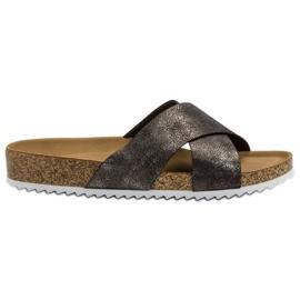Kylie Cómodas zapatillas grises