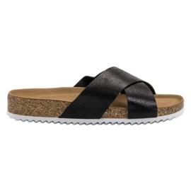 Kylie Zapatillas negras cómodas negro