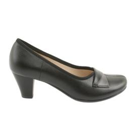 Zapatos de salón negros Gregors 570 para mujer