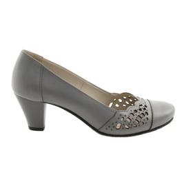 Zapatos de mujer Gregors 745 gris.
