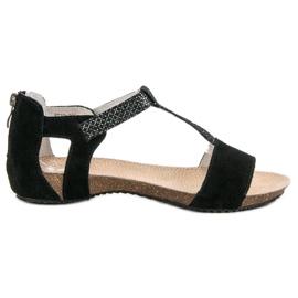 Zapatos de cuero VINCEZA negro