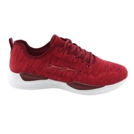Fijaciones deportivas para hombre DK SC235 rojo