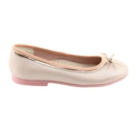 Bailarinas con lazo rosa perla American Club GC14 / 19