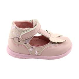 Ren But Bailarinas para niña con moño Ren 1466 rosa.