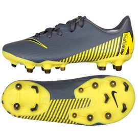 Calzado de fútbol Nike Mercurial Vapor 12 Academy Ps FG / MG Jr AH7349-070