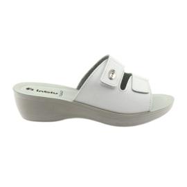 Velcro ganchos kotblno Inblu PL028 blanco
