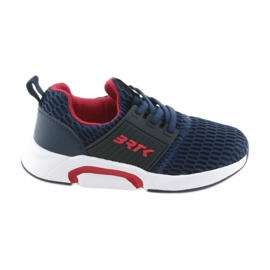 Zapatillas deportivas azul marino Slip-on Bartek 58110