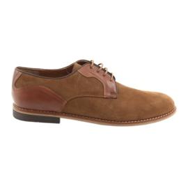 Zapatos de hombre Badura 3687 marrón.