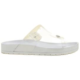 Seastar Flip Flops transparentes blanco
