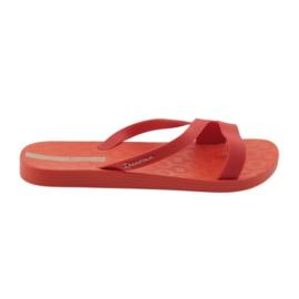 Ipanema Zapatillas de mujer Grendha 26263 rojas