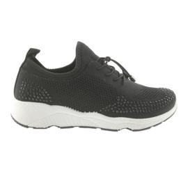 Zapatillas deportivas mujer DK FS19 negras. negro