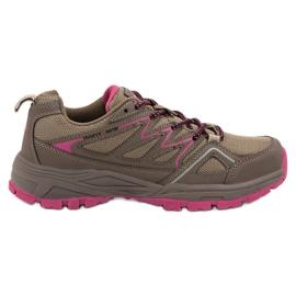 Marrón Zapatos de trekking para mujer