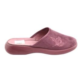 Zapatillas de mujer befado pu 019D096 púrpura