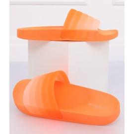 Zapatillas naranja para mujer K-9183 naranja
