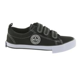 Zapatillas de deporte de terciopelo American Club negro