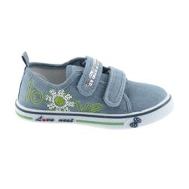 Zapatillas blue jeans love plantilla atletico de piel.