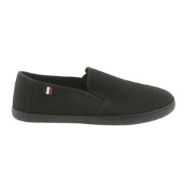 Negro Zapatillas ATLETICO negras sin cordones